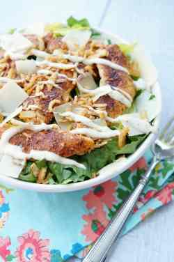 Lovely Caesarsalad Blackened Ken Caesar Salad Crispy Onions Providence Blackened Ken Recipe Alfredo Blackened Ken Recipe Stove