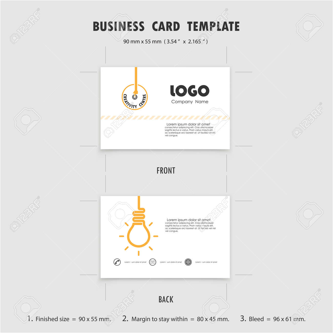 Regaling Name Cards Symbol What Is Size Pixels What Is Size A Business Card A Business Card X 2 165 45966505 Abstract Business Cards Design Template Size 90mmx55mm 3 54 cards What Is The Size Of A Business Card