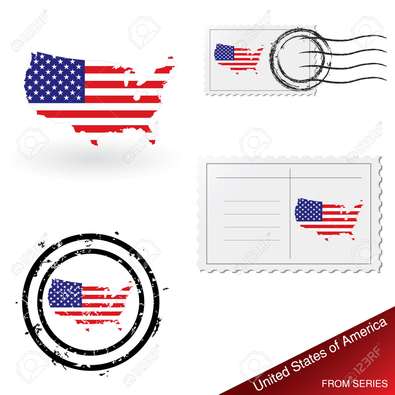 Sunshiny Postcard Stamps Usps Cost Postcard Set Stock Vector Usa Stamps Usa Stamps Postcard Set Royalty Free Postcard Stamps 2016 inspiration Post Card Stamps