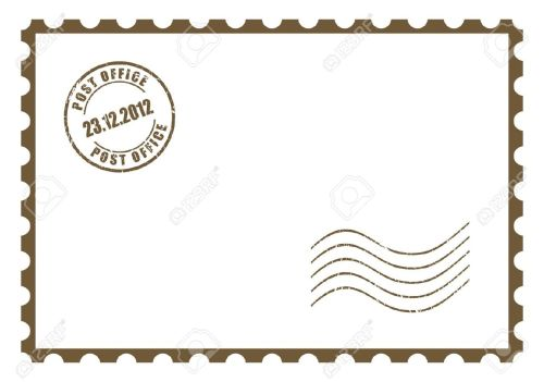 Medium Of Post Card Stamps