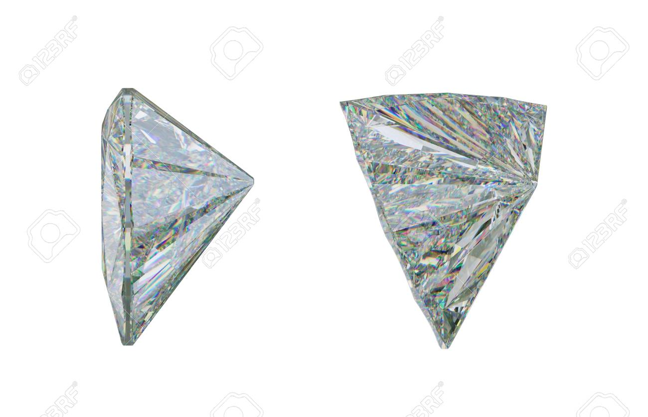 Fullsize Of Trillion Cut Diamond