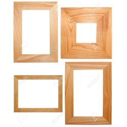Pretentious Wooden Frames Isolated On Background Stock Photo Wooden Frames India Wooden Frames 24x36 Collection Wooden Frames Isolated On Background Stock Photo Collection photos Wooden Picture Frames