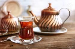 Congenial Stock Photo Turkish Tea Glass On Wooden Table Closeup Stock Photo Turkish Tea Set India Turkish Tea Set Nz Glass On Wooden Table Closeup Turkish Tea