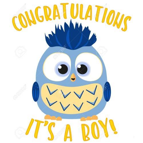 Medium Crop Of Congratulations Baby Boy