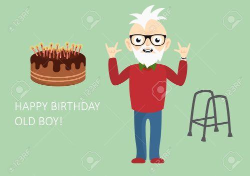 Medium Of Happy Birthday Old