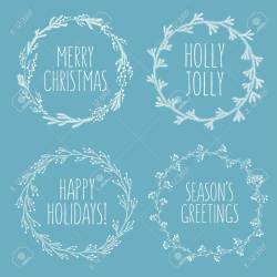 Grande Cards Happy Holidays Quotes Sayings Related Hand Drawn Floral Wreaths Greeting Happy Related Hand Drawn Floral Wreaths Greeting Happy Holidays Quotes