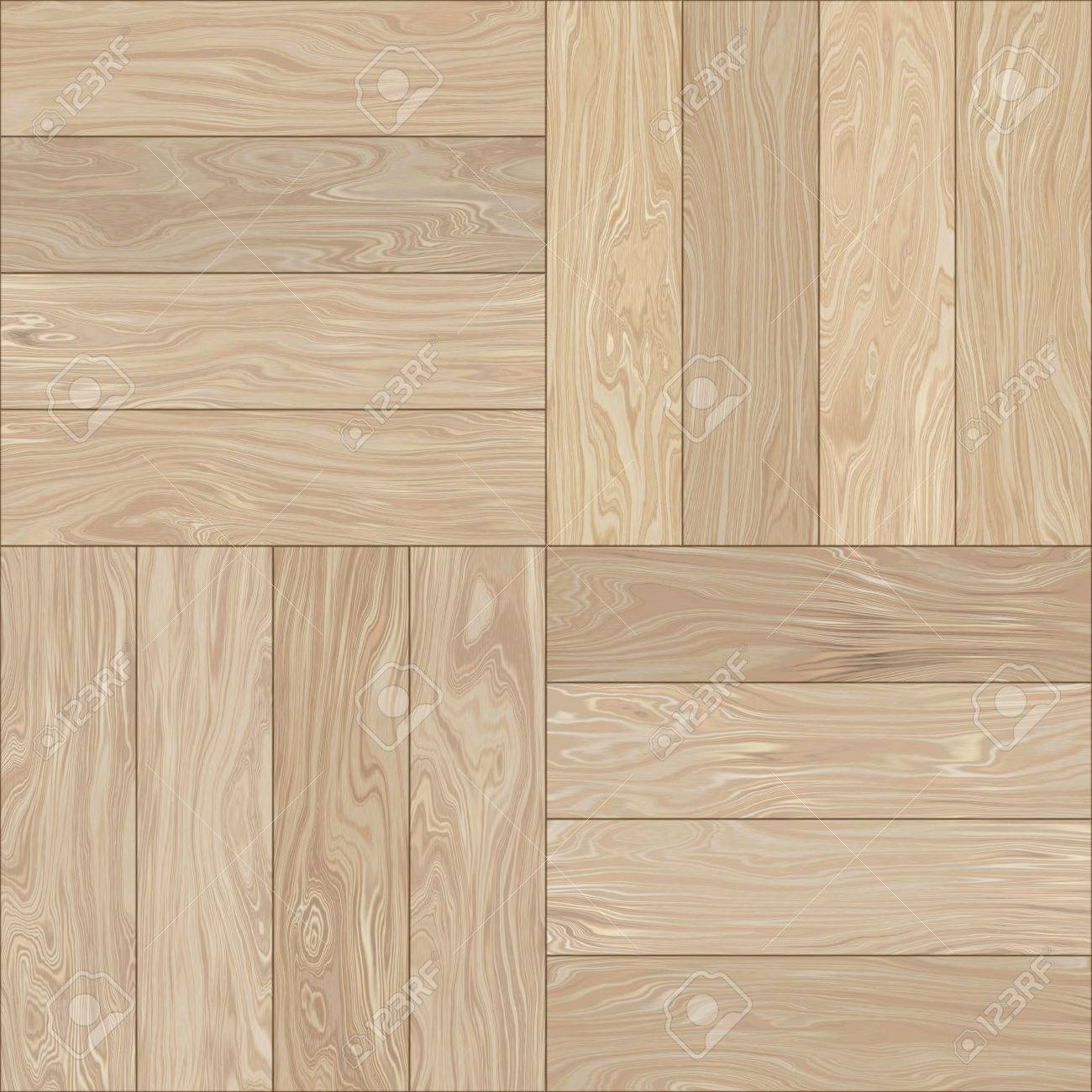Wooden Texture Parquet Background Seamless Pattern Stock Photo