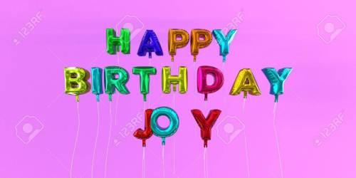 Medium Of Happy Birthday Joy