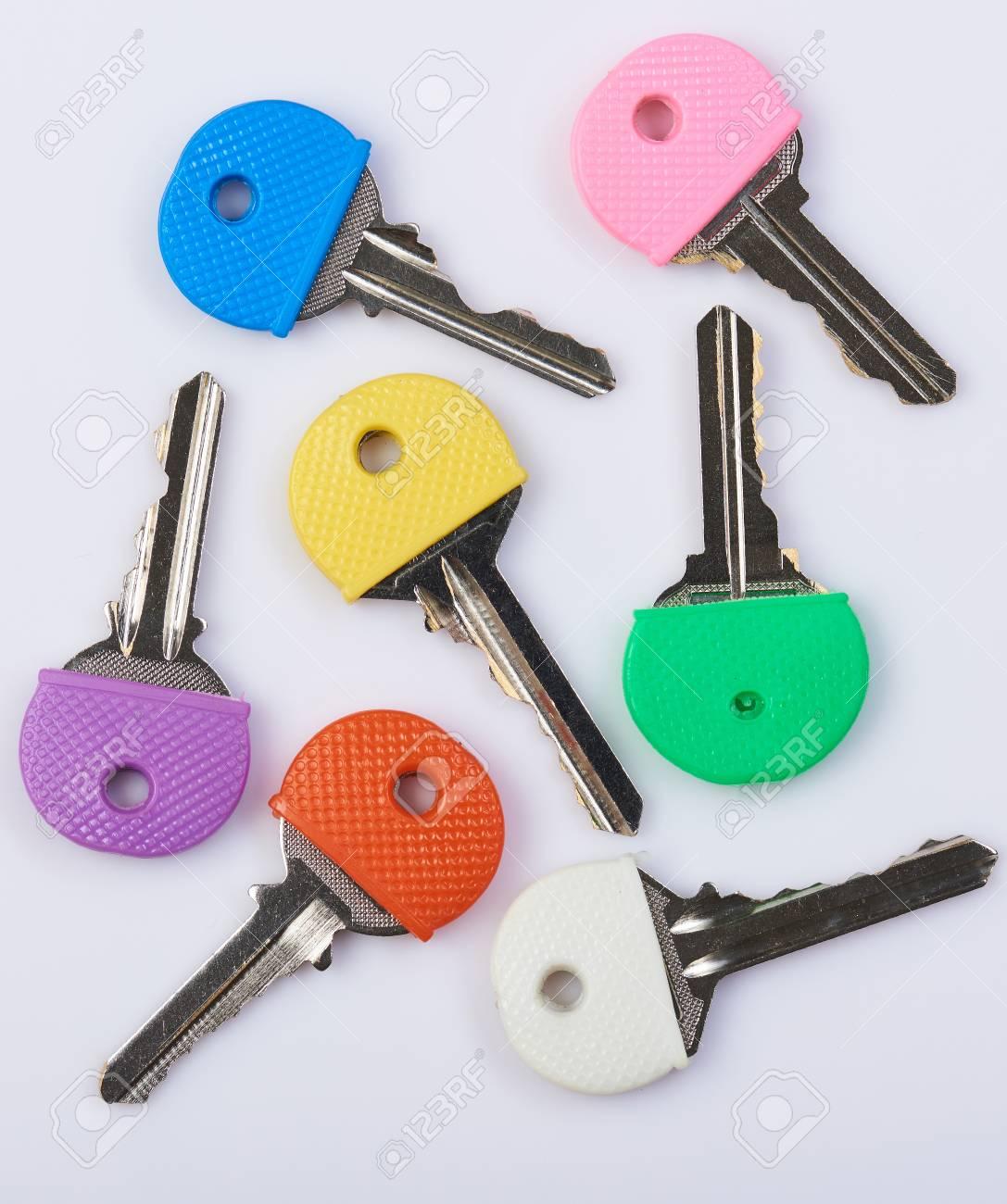 Fullsize Of A Colorful Key