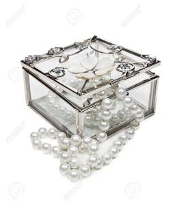 Small Of Glass Jewelry Box