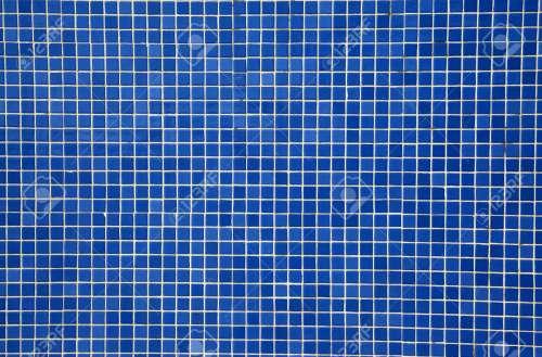 Medium Of Blue Mosaic Tile