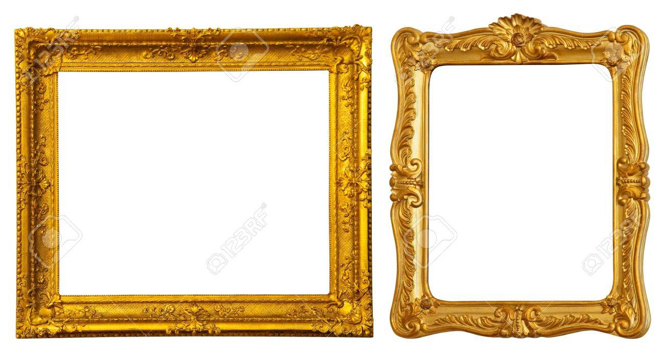 Fullsize Of Gold Picture Frames
