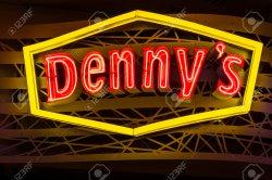 Comfy 83117183 Las Vegas Circa July 2017 Neon Logo A Denny S Coffee Shop Denny S Is America S Diner Dennys Las Vegas Menu Denny S Las Vegas Tahiti Village Signage