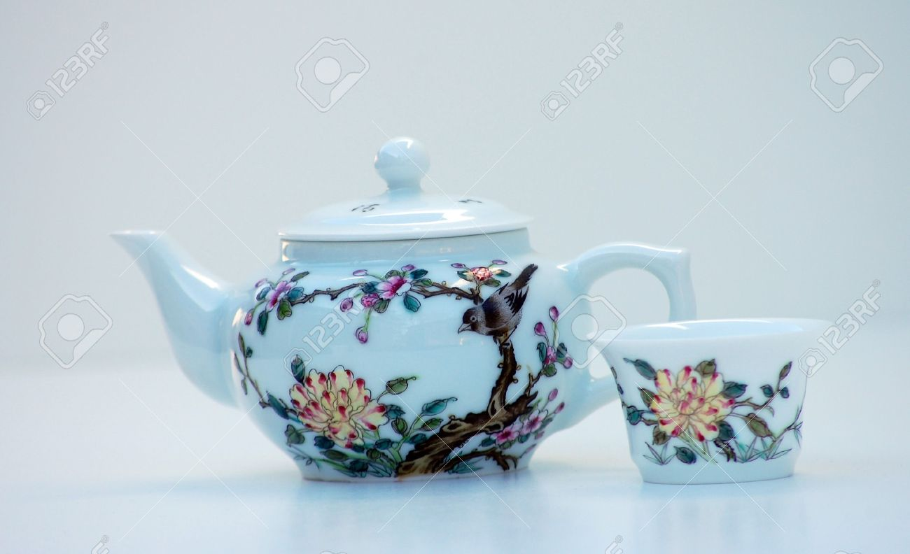 Examplary Stock Photo Tiny Teapot Cup Is A Design Painted On This Is Set Against A Tiny Teapot Cup Is A Design Painted On furniture Unique Tea Sets