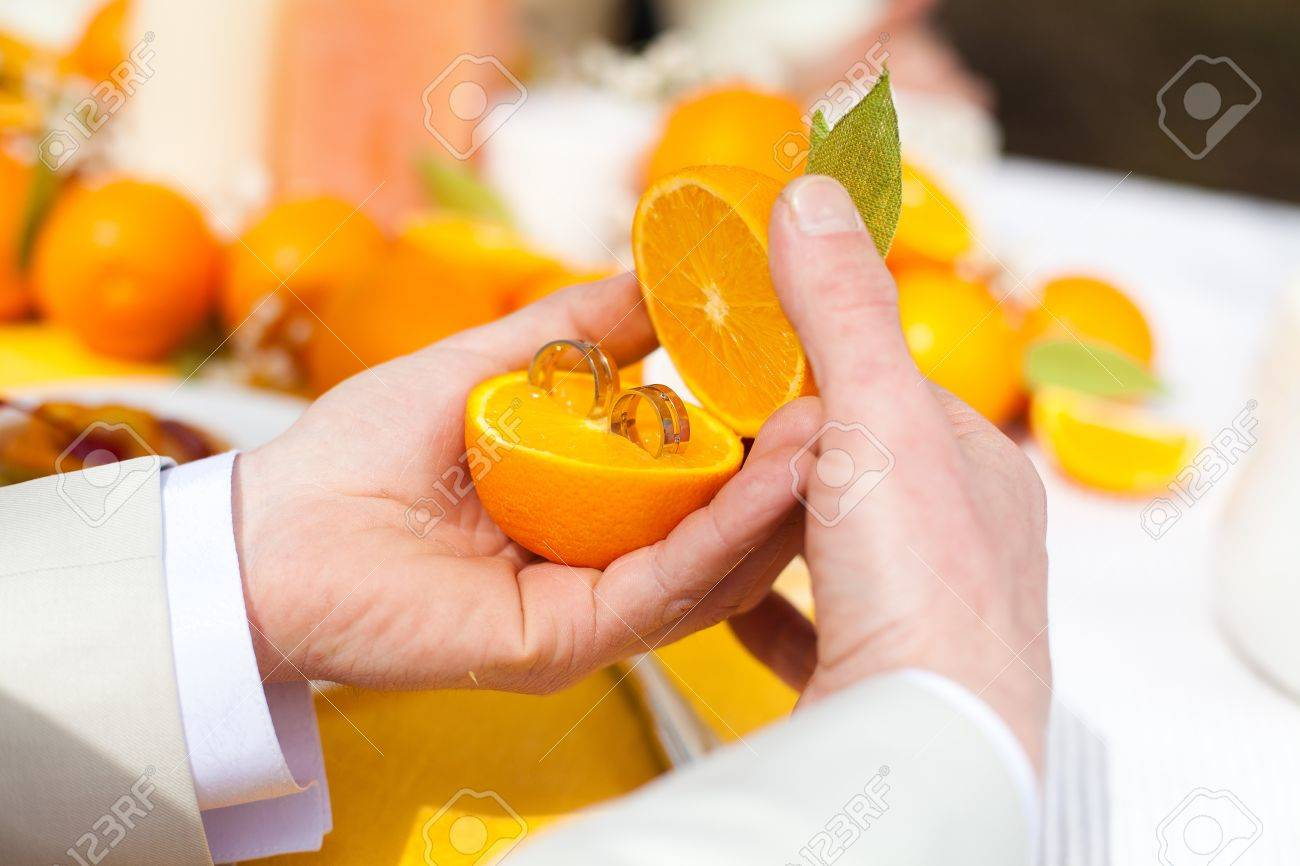 bespoke wedding rings orange wedding rings 18ct White Gold Orange Blossom Engraved Wedding Ring