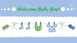 Small Of Welcome Baby Boy