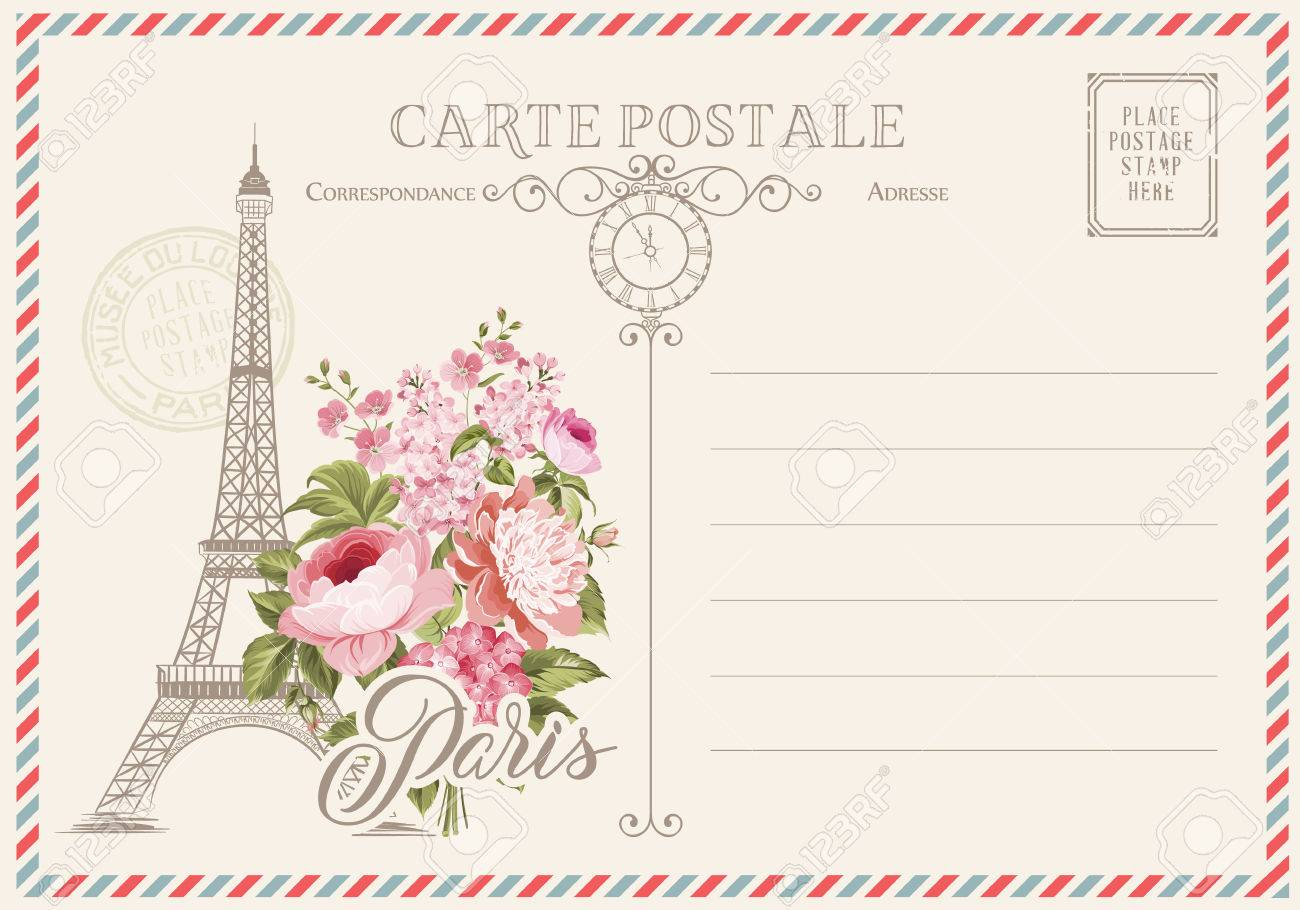 Soulful Eiffel Tower Spring Postcard Stamps Walmart Postcard Stamps 2018 Eiffel Tower Spring Flowers On Blank Postcard Post Stamps Post Stamps Blank Postcard inspiration Post Card Stamps