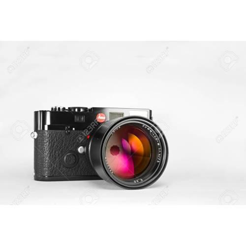 Medium Crop Of Leica Film Camera
