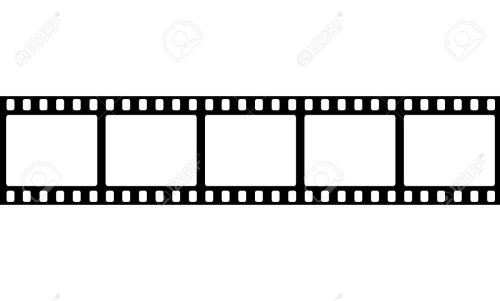 Medium Of Film Strip Template