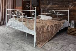 Small Of Wrought Iron Bed