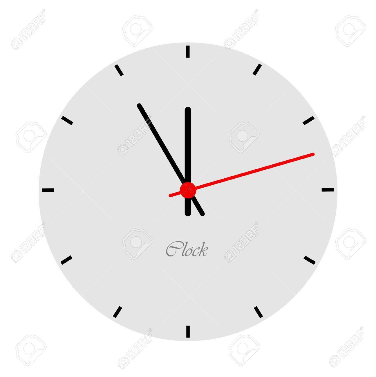 Fullsize Of Modern Clock Face