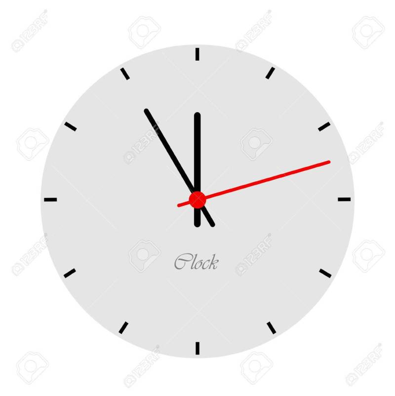 Large Of Modern Clock Face