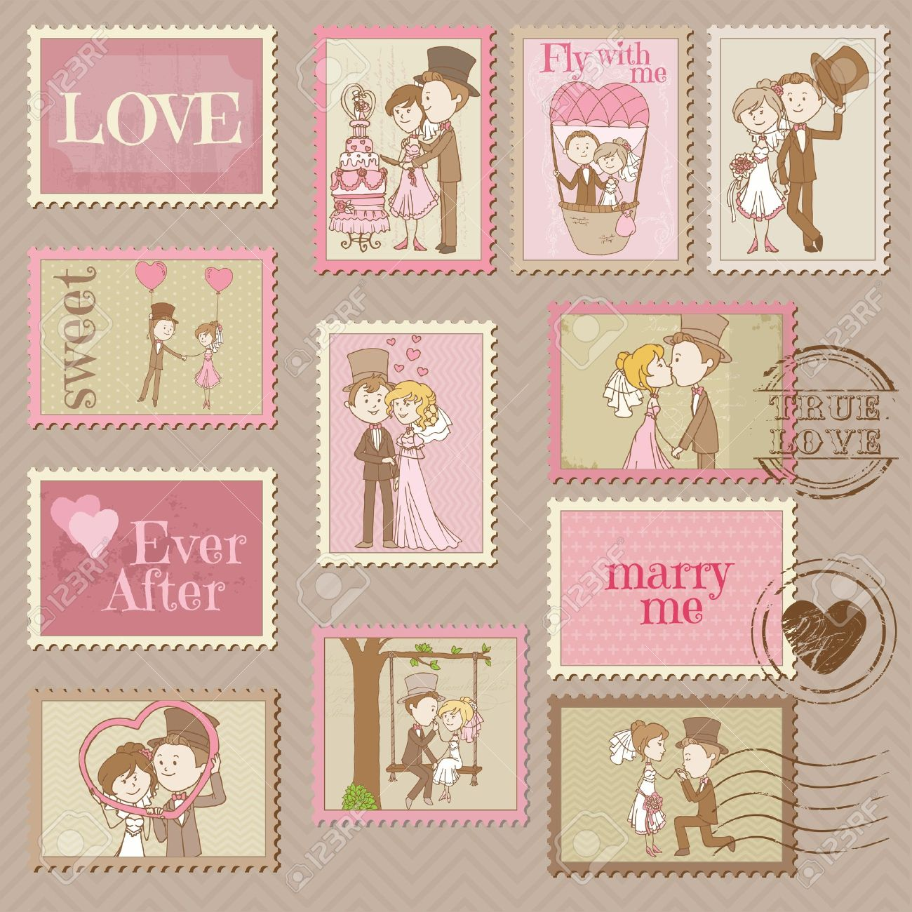 vintage stamps wedding wedding stamps eBay Vintage Stamps for My Wedding Invitations A Practical Wedding We re Your Wedding Planner Wedding Ideas for Brides Bridesmaids Grooms