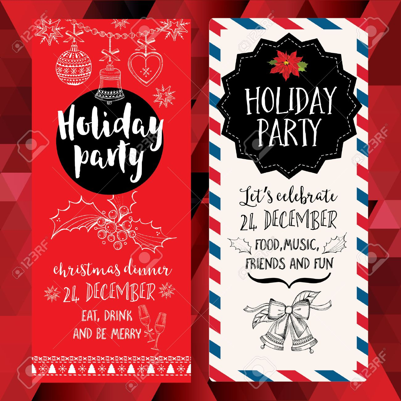 Fullsize Of Christmas Party Invitation