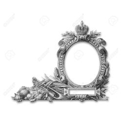 Small Crop Of Victorian Picture Frames