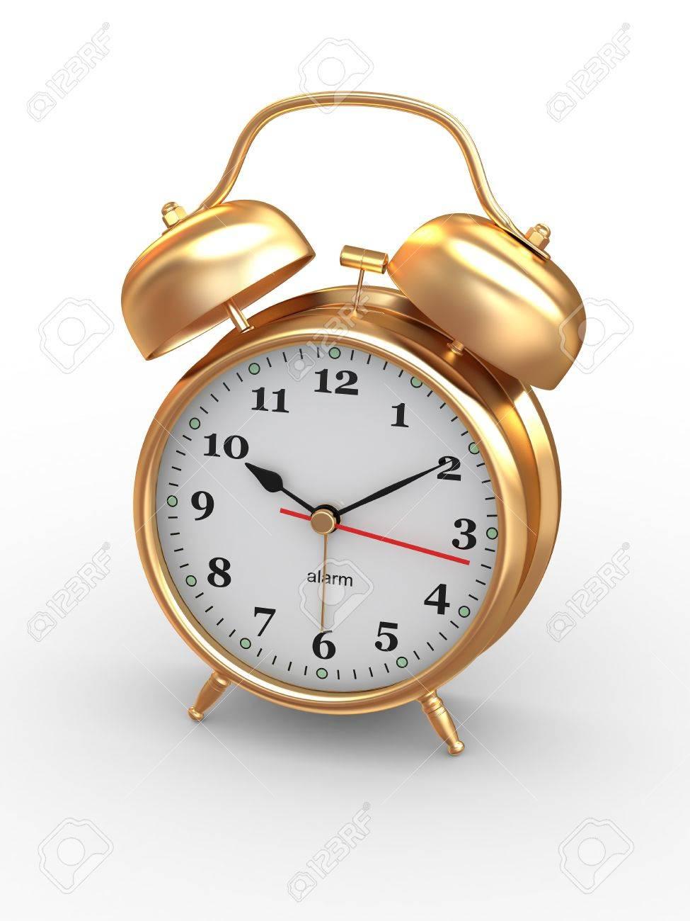 Fullsize Of Old Fashioned Alarm Clock