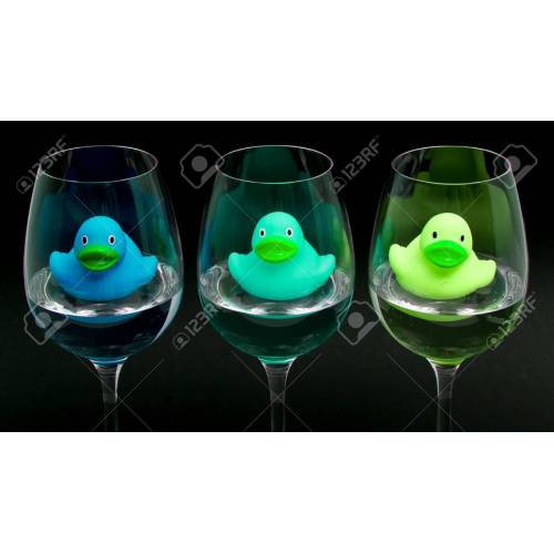 Medium Crop Of Rubber Wine Glasses