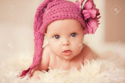 Medium Of Cute Baby Girl