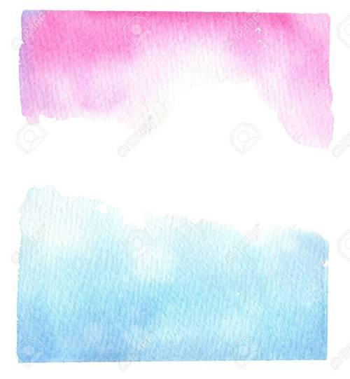 Medium Of Blue And Pink Background
