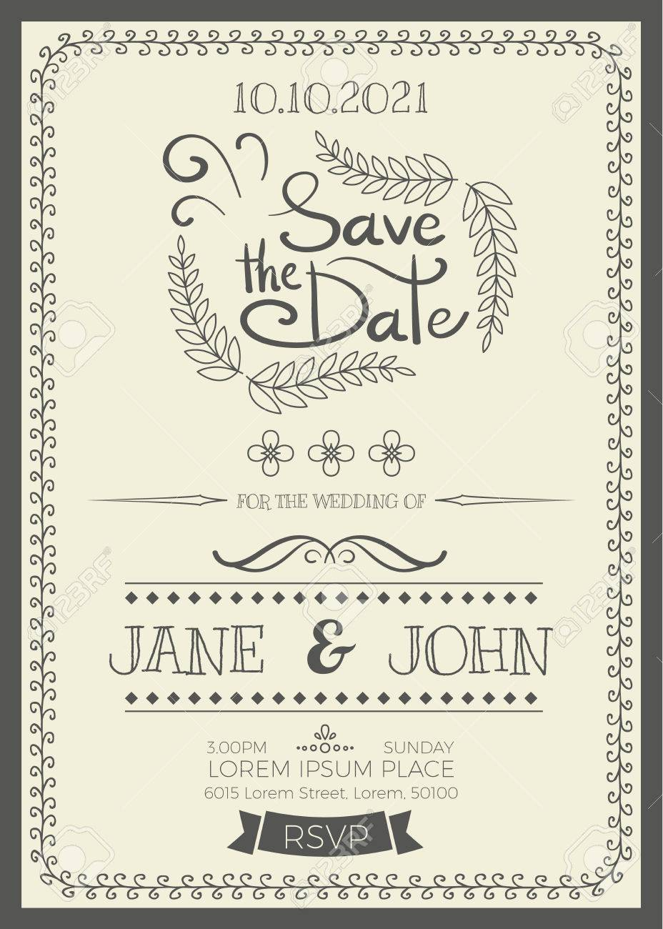 Fullsize Of Wedding Invitation Size