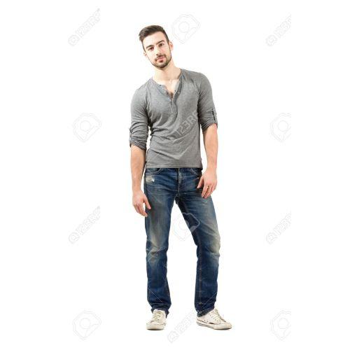 Medium Crop Of Male Model Poses