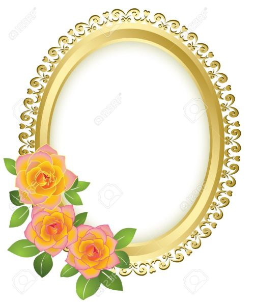 Medium Of Oval Picture Frames
