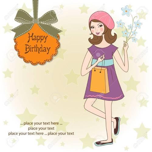 Medium Of Happy Birthday Pretty