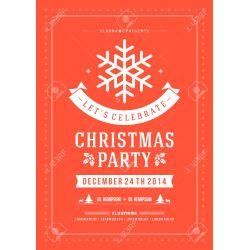 Famed Party Invitation Retro Typography Ornament Holidays Flyer Or Poster Party Invitation Retro Typography Ornament Decoration Party Invitation Templates Party Invitation Pics