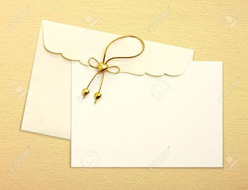 Medium Of Wedding Invitation Envelopes