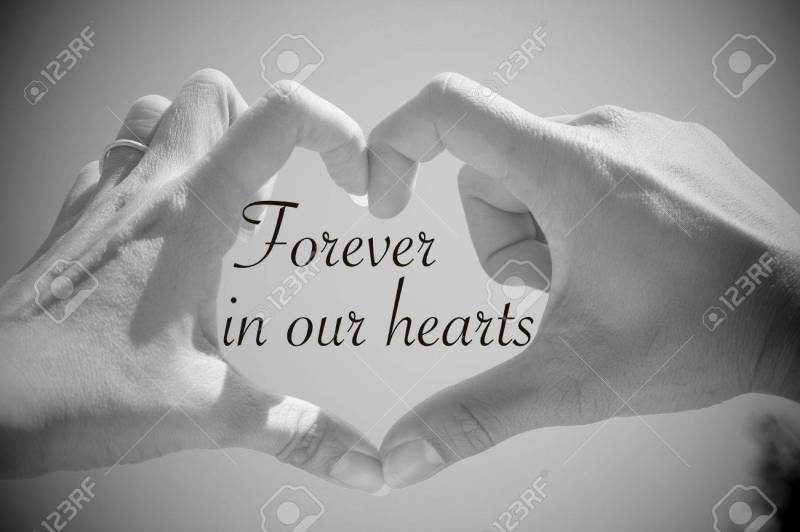 Large Of Forever In Our Hearts