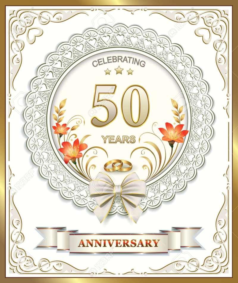 Large Of 50th Wedding Anniversary