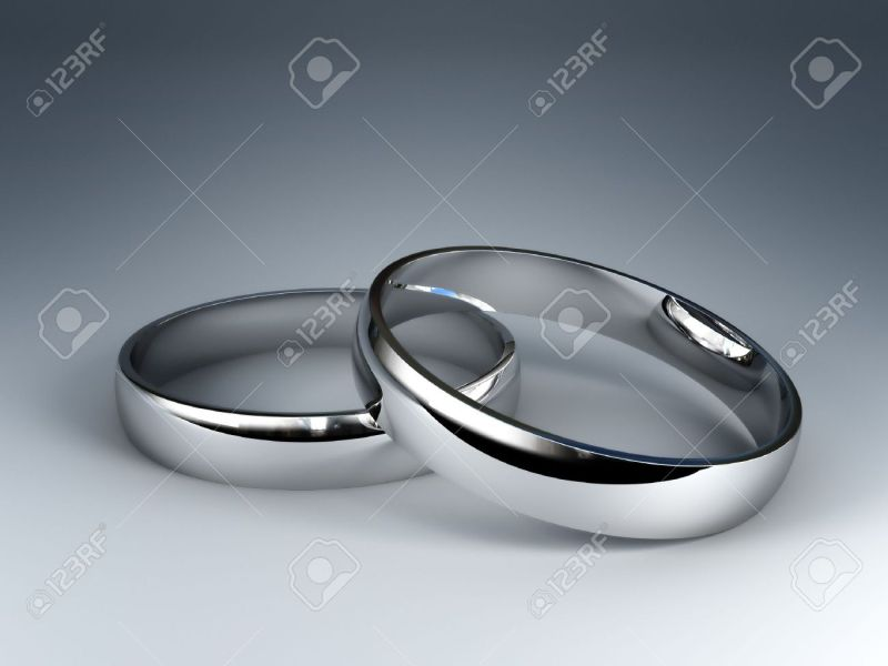 Large Of Silver Wedding Rings