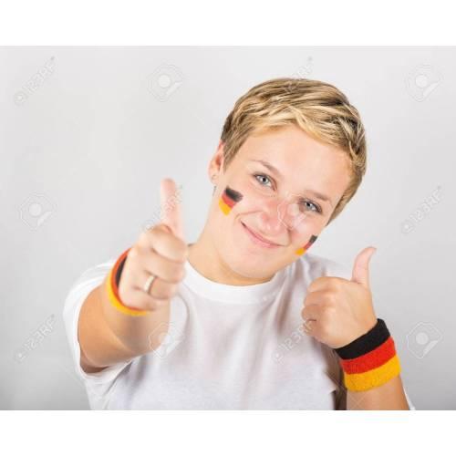 Medium Crop Of Happy In German