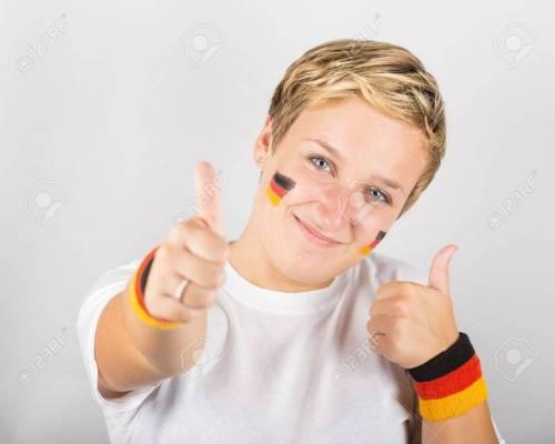 Medium Of Happy In German