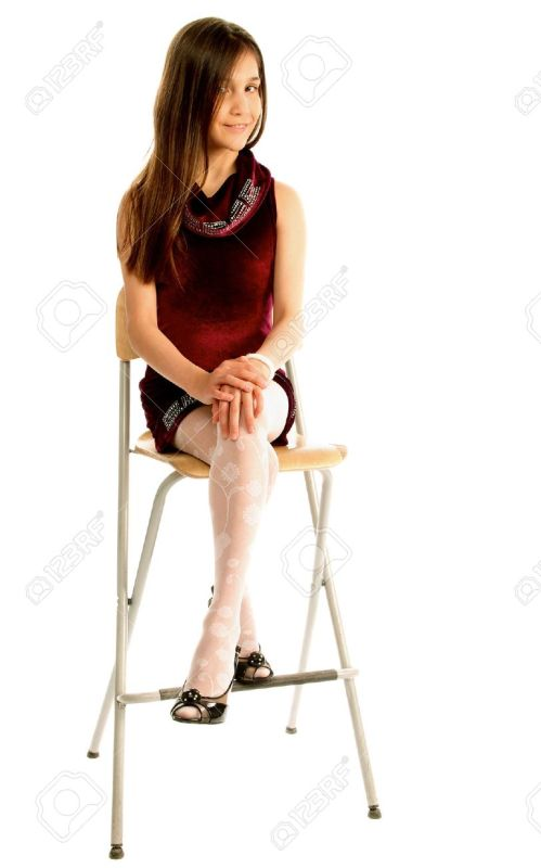 Medium Of Purple Teen Chair