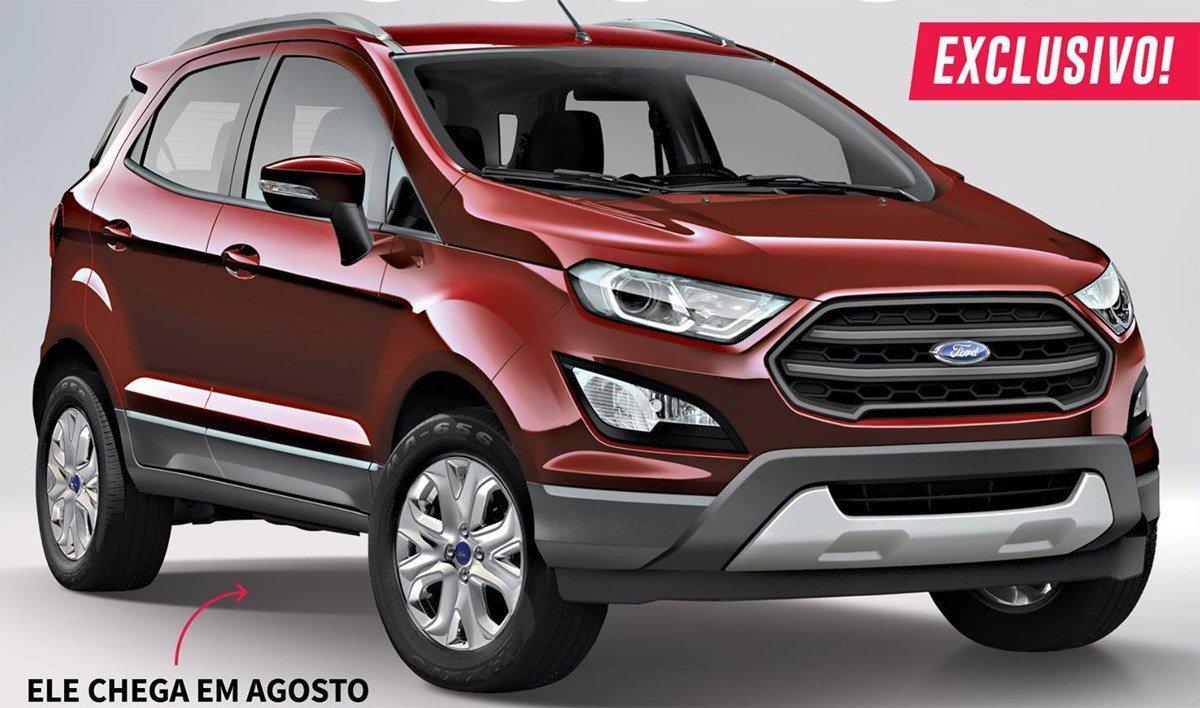 Ford EcoSport 2017 chega em agosto com design atualizado