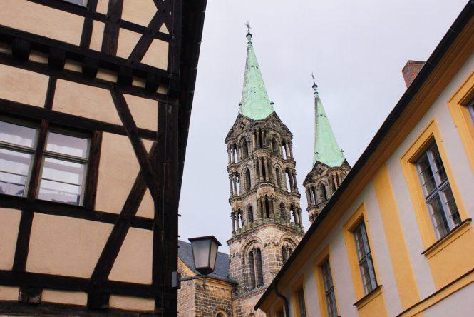 Catedral de São Pedro e São Jorge em Bamberg, na Alemanha