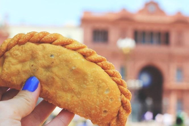 Empanada - Casa Rosada, 48 horas em Buenos Aires