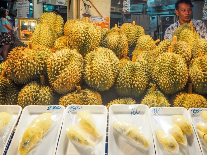 Durian - O que comer em Bangkok
