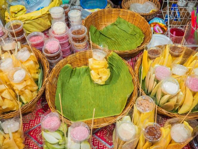 Manga com pimenta - Onde comer em bangkok
